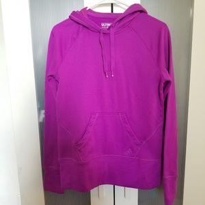 Adidas Ultimate Hoodie Size Medium Purple